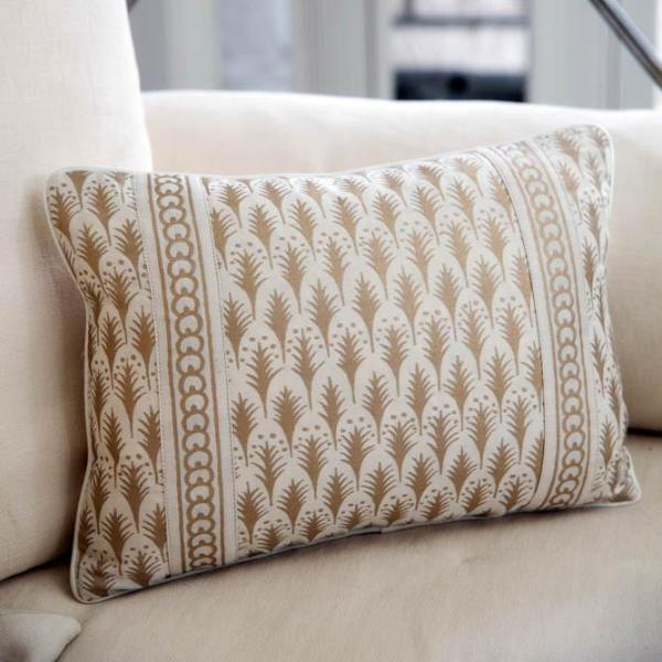 Rectangle Fortuny Accent Pillow
