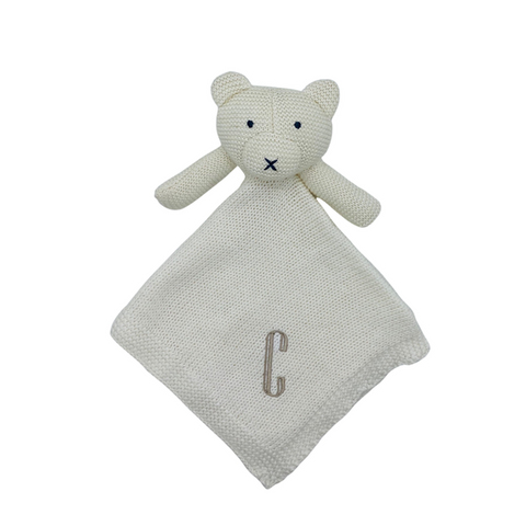 Organic Cotton Lovey Bear