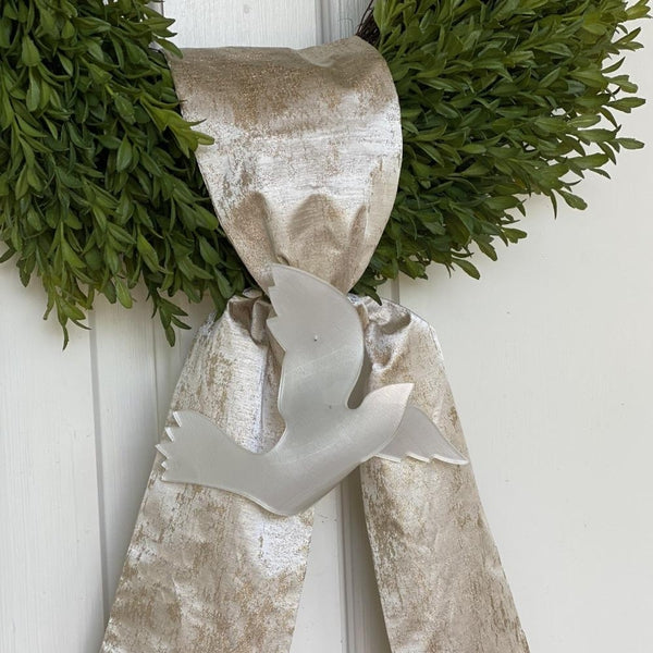 Gold Grain Wreath Sash