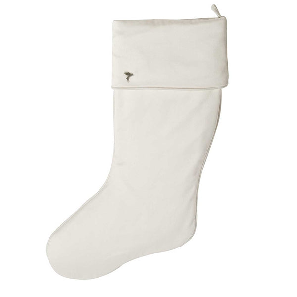 Ivory Christmas Stocking