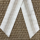 Fortuny Piumette Wreath Sash