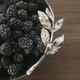 Medium Bowl with Olive Branch Design for Serving
