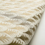 Fortuny Piumette Ivory and Gold Fabric
