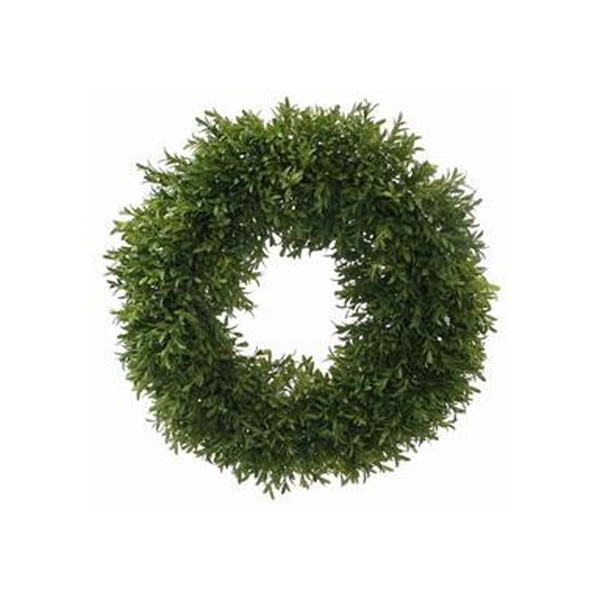 Round Boxwood Wreath