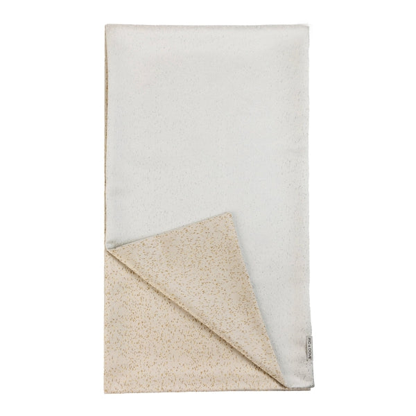 Gold & Silver Speckled Reversible Table Runner