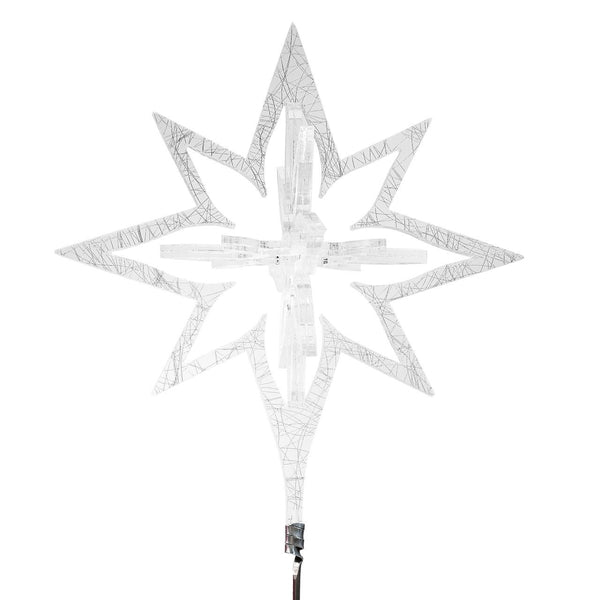 Acrylic Star Christmas Tree Topper