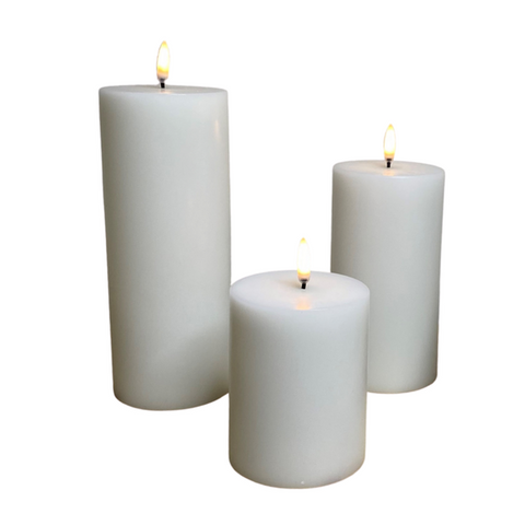 Flameless LED Candle Pillar