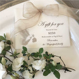 The Fig & Dove Gift Card is a Great Gift Idea for the Bride to Be