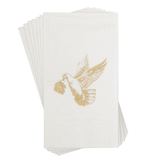 Hand Towels with Gold Dove