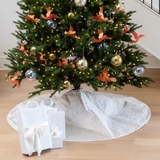 Gold Spot Christmas Tree Skirt