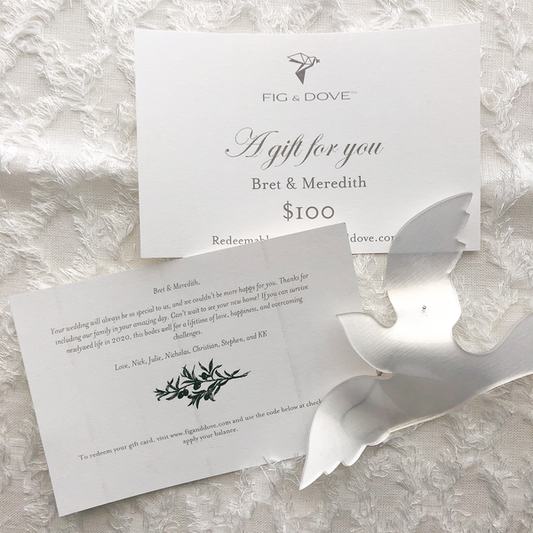 Fig & Dove Gift Card