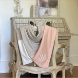 Rose and Taupe Organic Cotton Dreamsoft Wrap