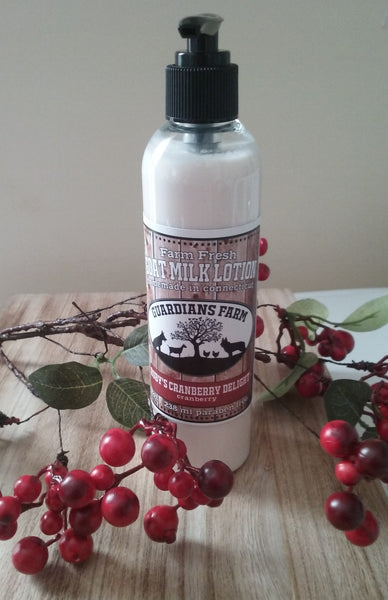 Ruby's Cranberry Delight Goat Milk Lotion - Jewel Silk Scarves