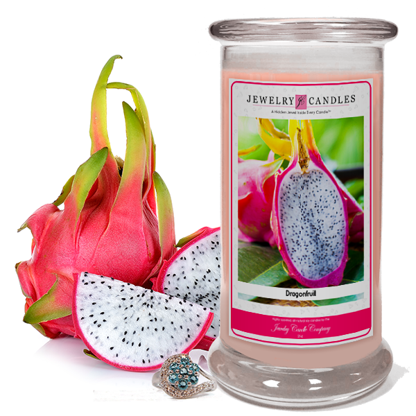 Dragon Fruit Soy Jewelry Candle - Jewel Silk Scarves