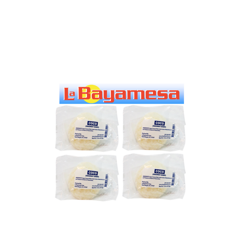 Coconut Candy by La Bayamesa - Coco 4 pieces (189gr)
