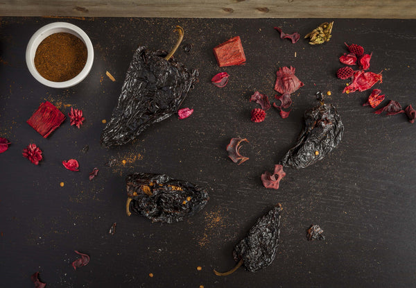 Dried Ancho Chili Peppers by Sombrero. Great for Tortilla Soup!