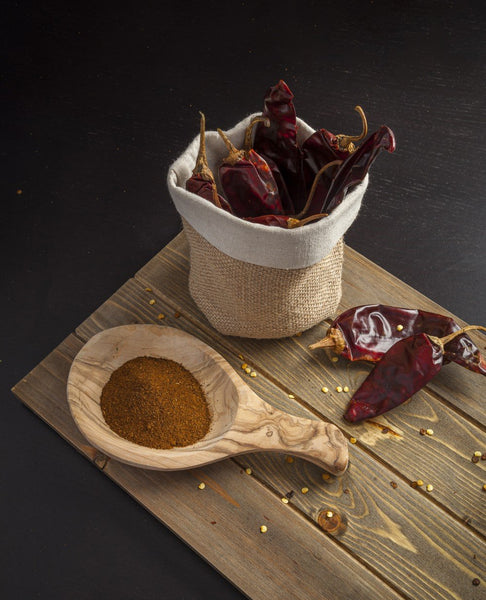 Dried Guajillo Chili Peppers by Sombrero, 145gr. Great for Tacos al Pastor!