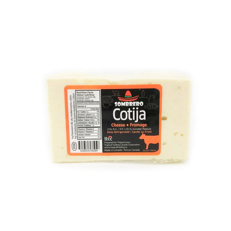 Cotija Cheese by Sombrero (330-370gr)