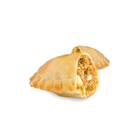 100 Mini Chicken Empanadas, Argentinian-style and pre-cooked, just warm up and enjoy!