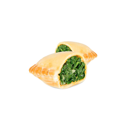 100 Mini Spinach Empanadas, Argentinian-style and pre-cooked, just warm up and enjoy!