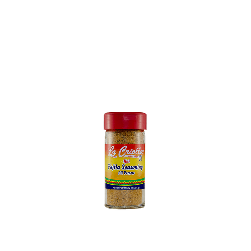 Fajita Seasoning, all natural family recipe by La Criolla! HOT 4Oz