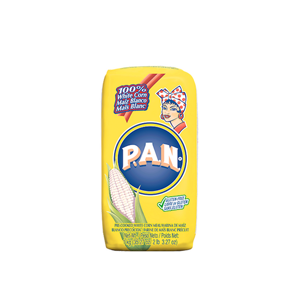 PAN Pre-cooked white corn meal 10x1kg