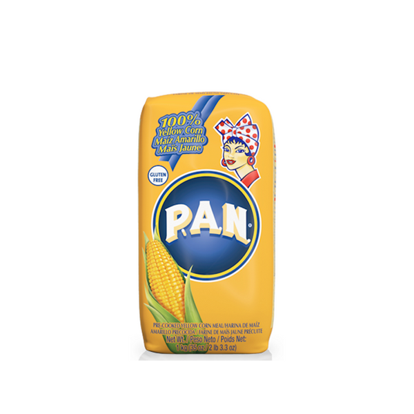 PAN Pre-cooked yellow corn meal - 10x1kg