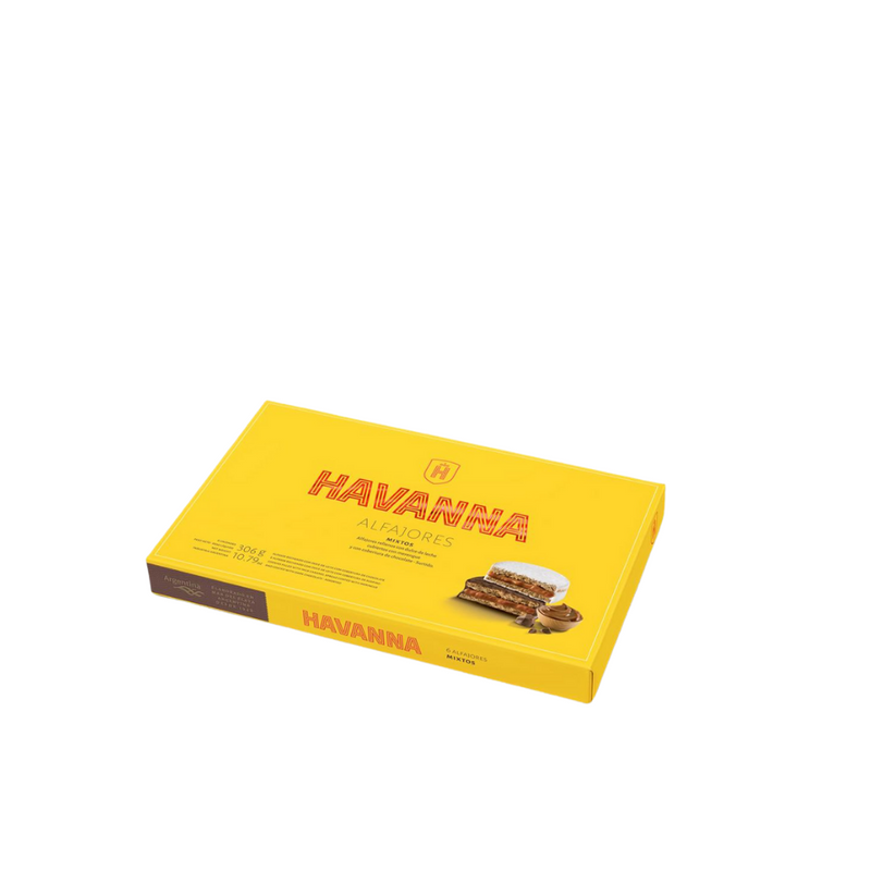 Mixed Alfajores by Havanna (Box of 6 - 330 gr)
