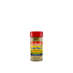 Lemon pepper, No MSG, all natural family recipe by La Criolla! 3Oz