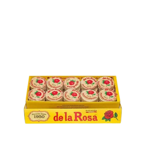 Mazapan or Marzipans by De La Rosa, peanut candy (12 units - 336gr)