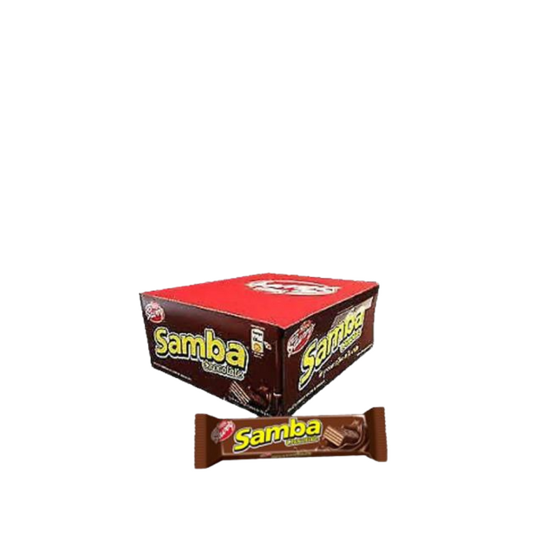 Samba, chocolate covered wafer with chocolate filling (20 x 32gr) by Nestle