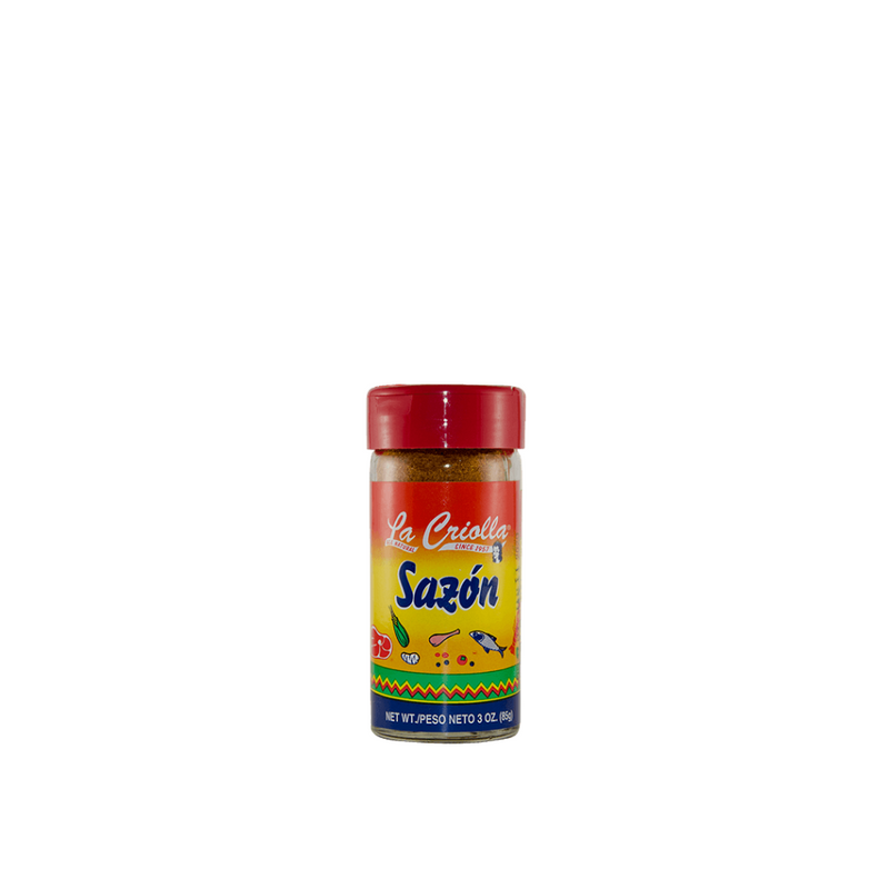 Sazon, multi-purpose seasoning, all natural family recipe by La Criolla! 3Oz