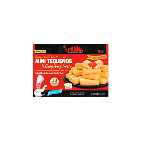 Cheese/Guava sticks or tequeños, ready-to-bake (18 units)