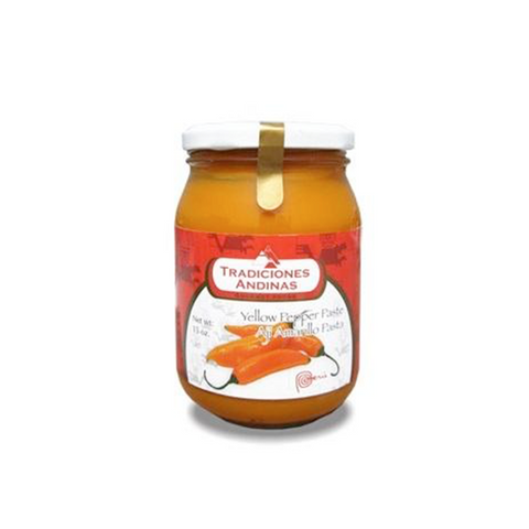 Peruvian Yellow Pepper Paste - 15oz jar (Pasta de Aji Amarillo)