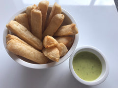 2 Pre-cooked Cassava Croquettes or Yuca Fries, 2x908gr