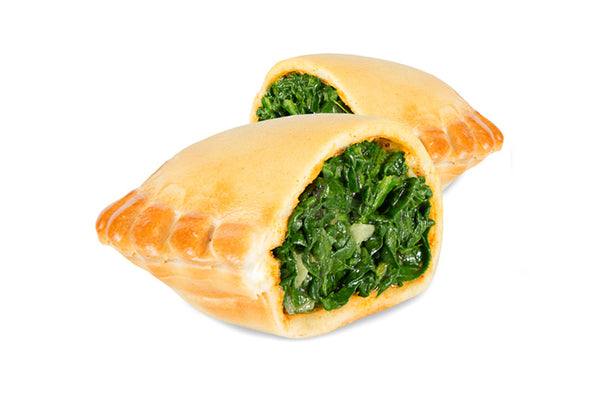 Spinach/cheese empanadas, ready-to-bake (4 full-size units)