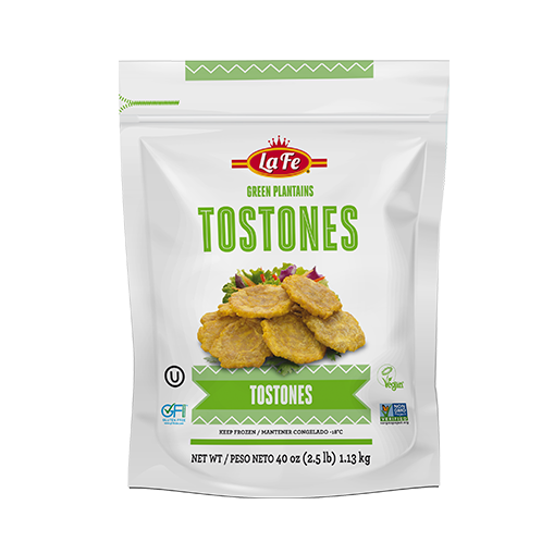 Green Sliced Plantains (Tostones or Patacones) - 907gr