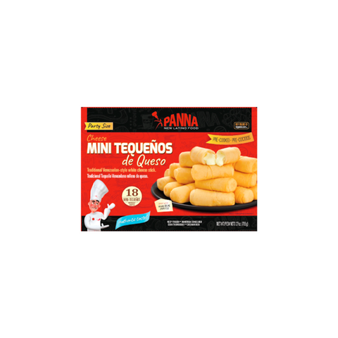 Cheese sticks or tequeños, ready-to-bake (18 units)