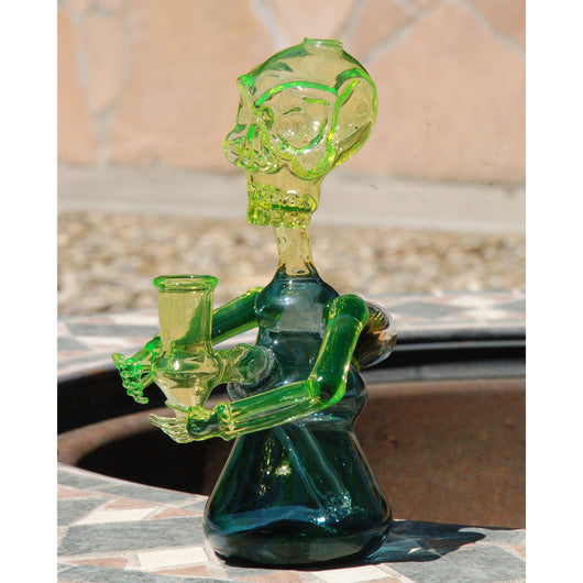 Credo Glass Illuminati Skully