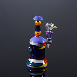 Chuck B Glass Squiggle Tech Banger Hanger