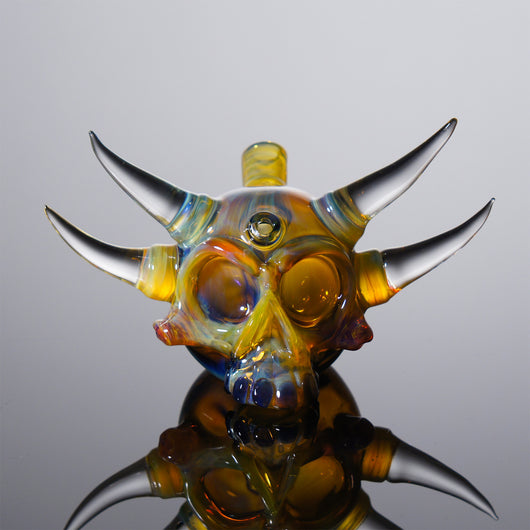 Grime Glass Skull