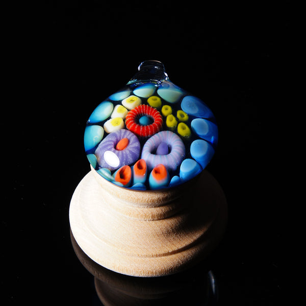 Johnny Landini Glass Coral Reef Pendant
