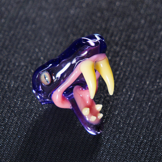 Upgrade Glass Snake Pendant