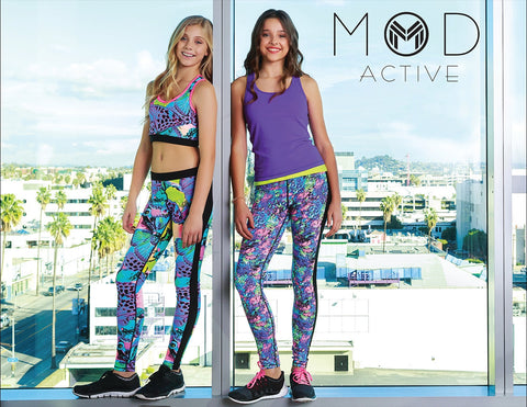 Mod Active Juniors girls in activewear