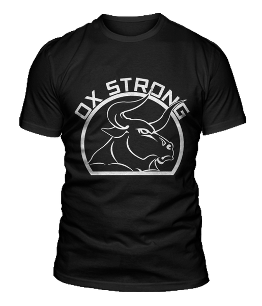 Ox Strong Fitness T-Shirt - Black
