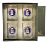 Air Force Double Old Fashioned glass set