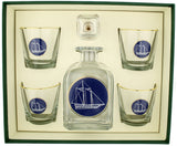 Americas Cup Decanter set - UR Gifts 4 All Seasons