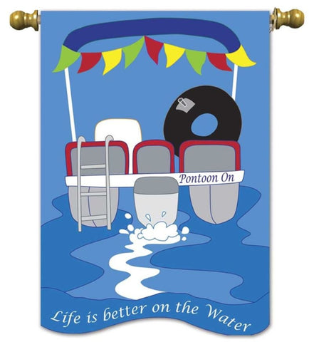Life is Better on the Water - Flag