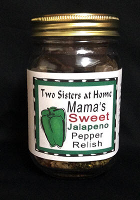 MAMA'S SWEET JALAPENO PEPPER RELISH
