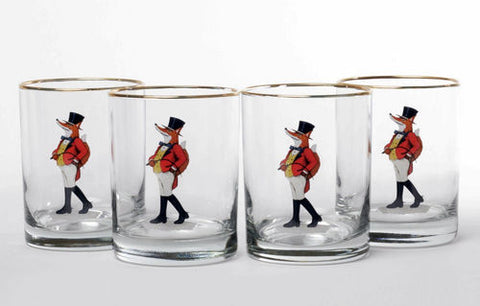 Snooty Fox Double Old Fashioned glass set